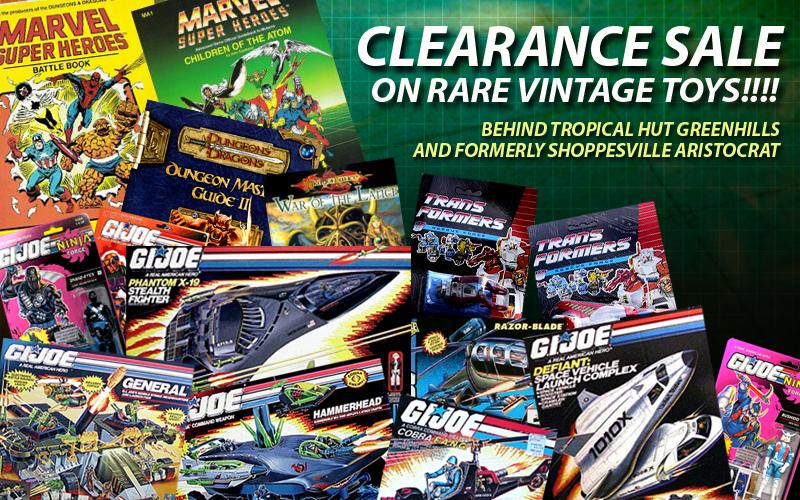 Classic 80s Toys : Classic s collectibles and toys sale in greenhills