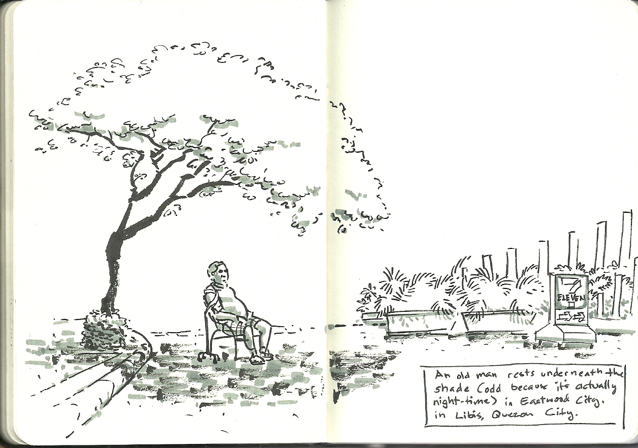 Architectural Trees Drawings Drawing Men Under Trees